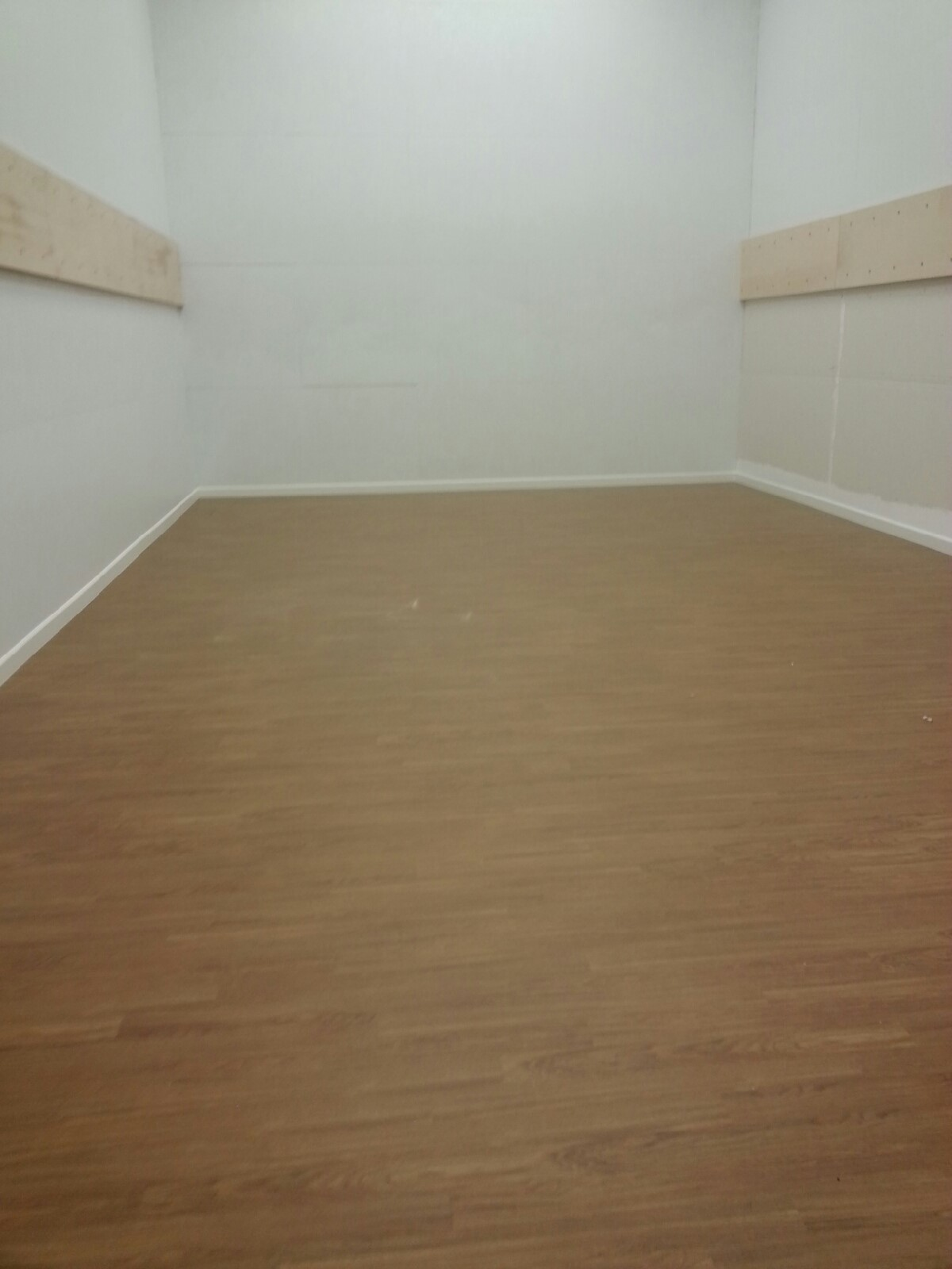 Flooring completed picture