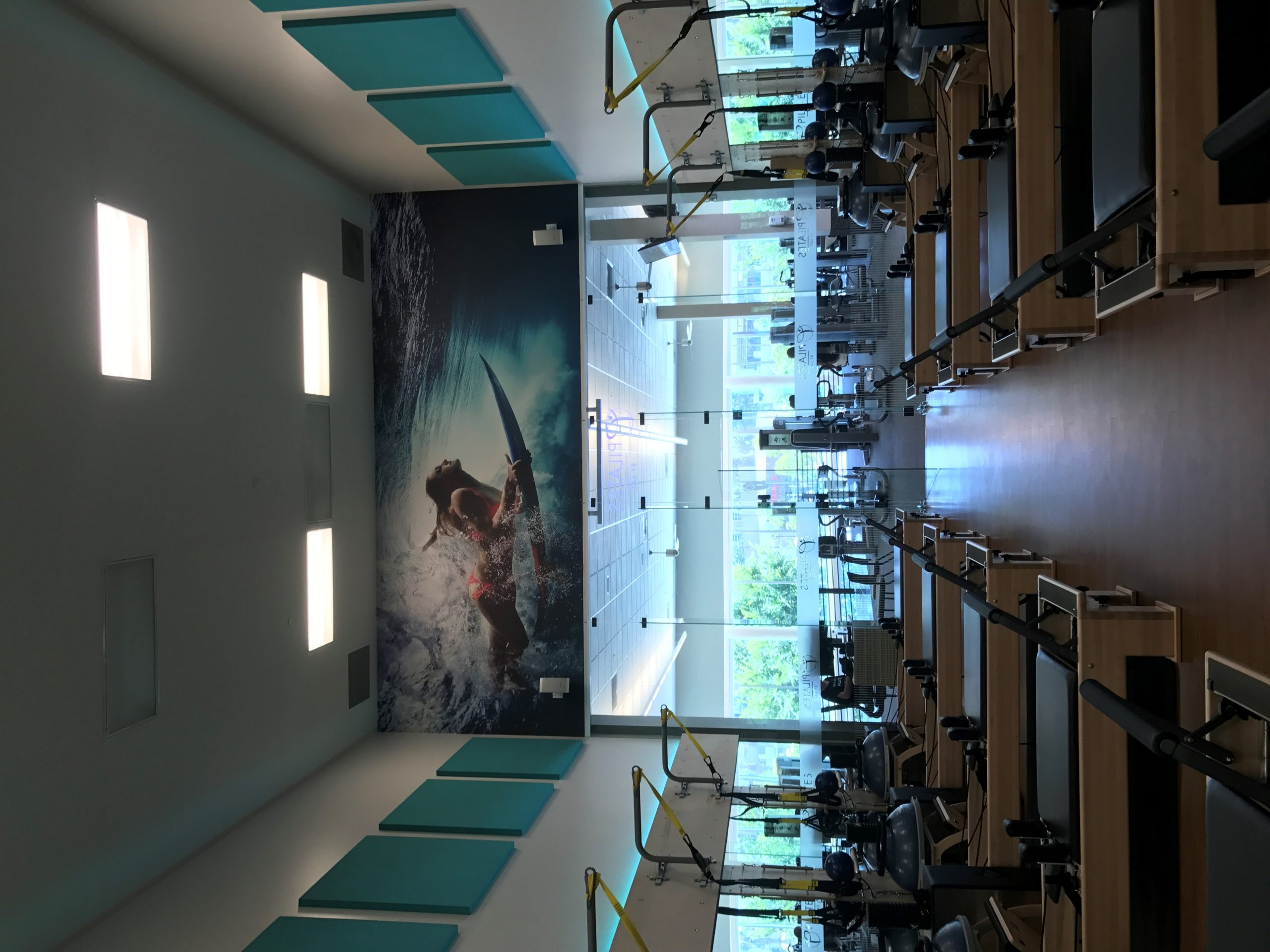 Mural completed Irvine Michelson