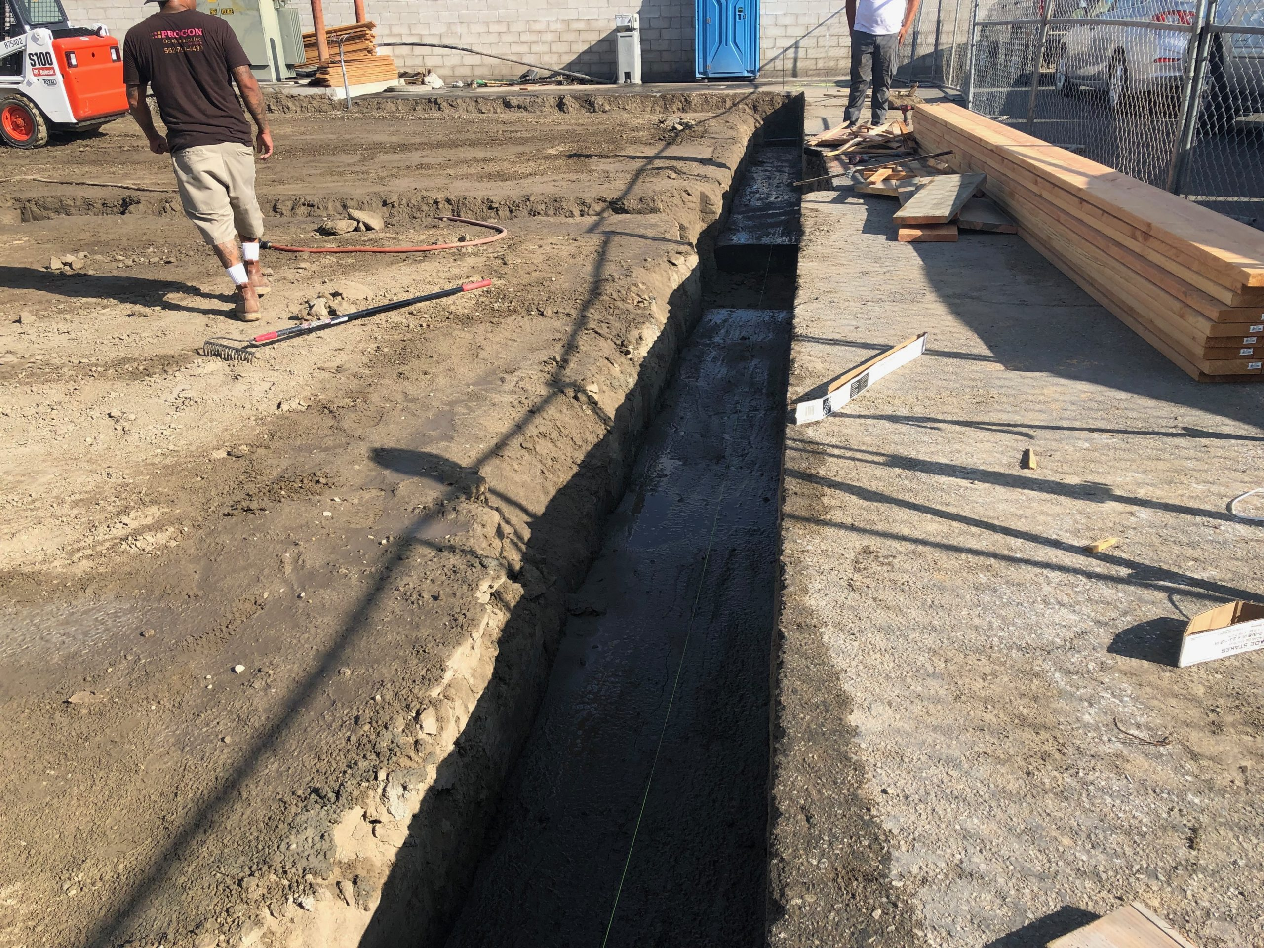 progress pictures 12 inch footing 7